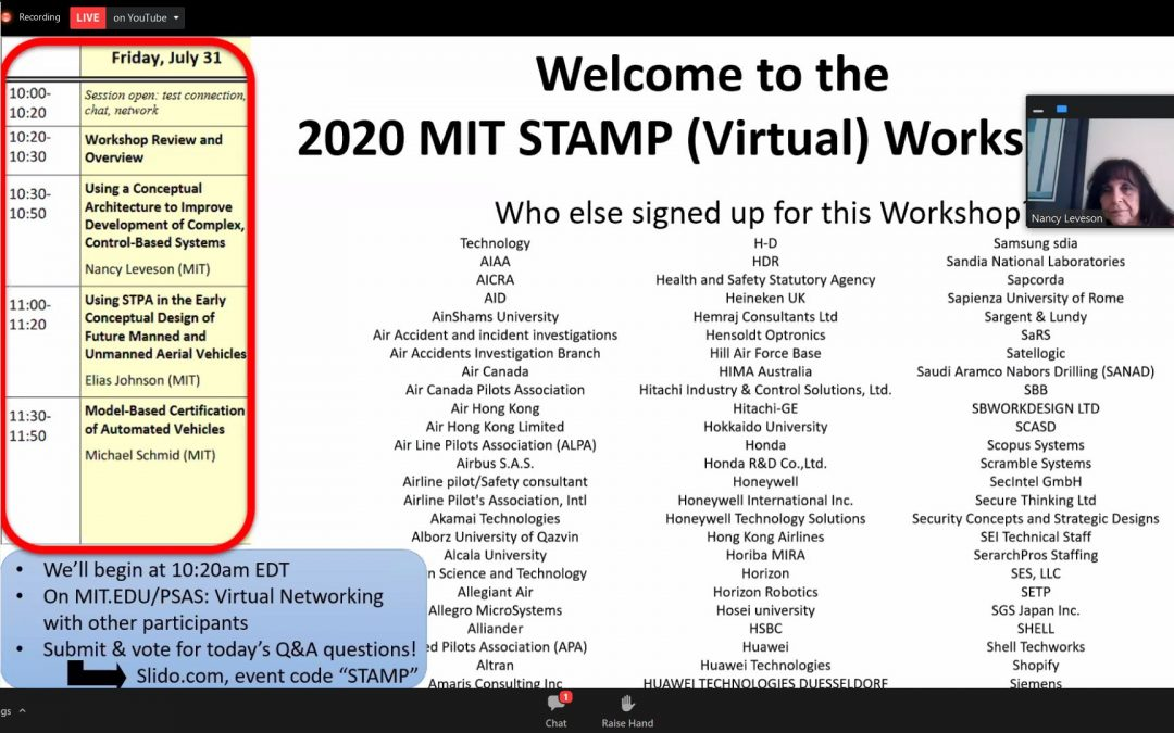 Highlights of MIT STAMP 2020 Workshop in 5 minutes!
